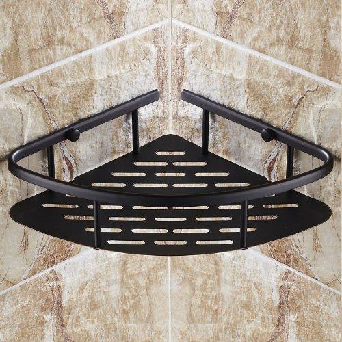 Amazon.com: Oil Rubbed Bronze Wall Mount Corner Holder Bathroom ...
