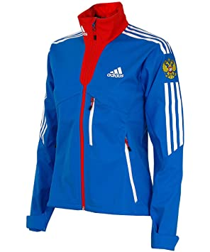 adidas Damen Softshell Jacke Outdoor Funktionsjacke Russland