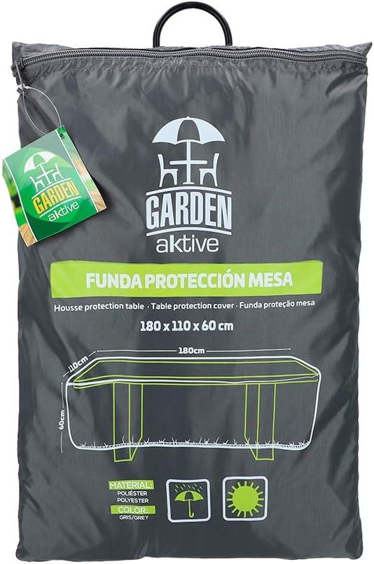 Aktive 61500 - Funda protectora mesa de jardín 180x110x60 cm Garden