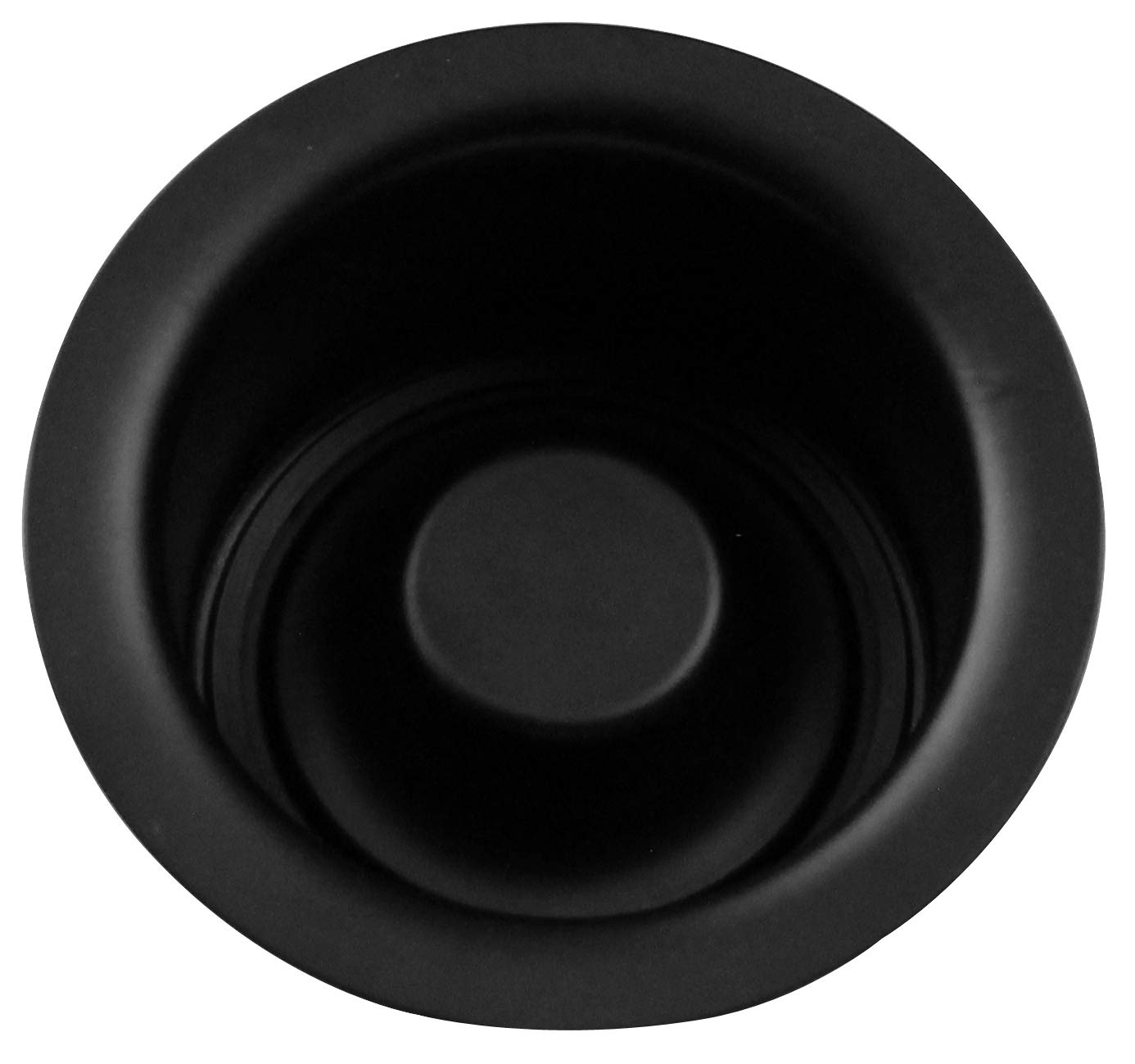 Westbrass InSinkErator Style Extra-Deep Disposal Flange & Stopper, Matte Black, D2082-62 by Westbrass