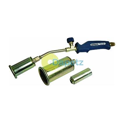 Daptez Multiuso Gas Propano Soplete Kit 25, 35 & 50mm Soldadura, Soldadura