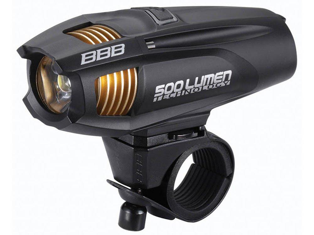 BBB BLS-72 ストライク500 ヘッドライト ブラック 028608   B0732K3CBC