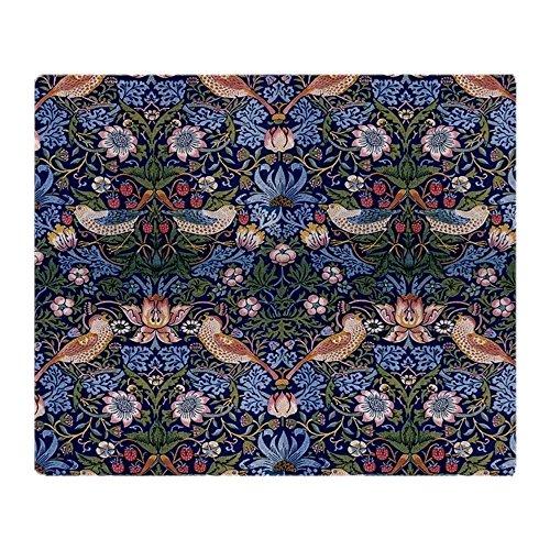 CafePress William Morris Strawberry Thief Soft Fleece Throw Blanket, 50
