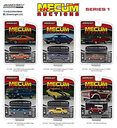 Amazon.com: Greenlight 37110 mecum Subastas Colector Cars ...