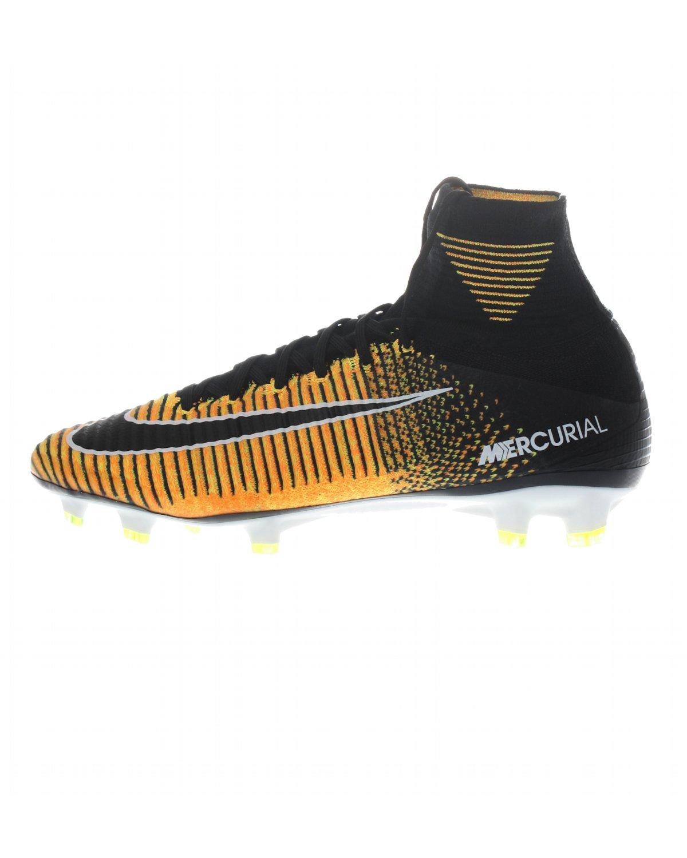 NIKE Mens Mercurial Superfly FG Soccer Cleat (SZ. 11.5) Laser Orange, Black B073WC89RK Parent