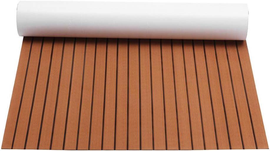 240/cm /× 89,9/cm synth/étique en teck de marine pour bateau Bateau en mousse EVA DIY Sol terrasse Pad