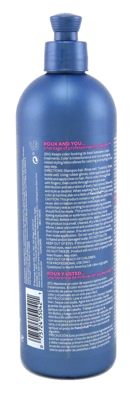 Amazon.com : Roux Fanci-Full Rinse #42 Silver Lining 15.2 Ounce (449ml) (3 Pack) : Chemical Hair Dyes : Beauty