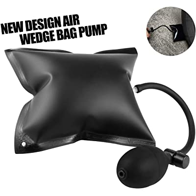 Mrcartool Auto Air Wedge Pump Alignment Tool Inflatable Air Shim Bag for Home Use and Auto Repair: Automotive