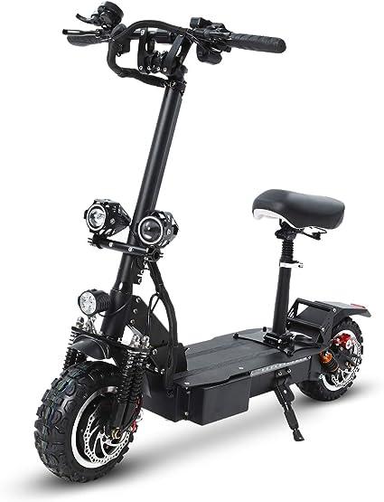 GUNAI Scooter Elettrico Scooter Pieghevole 3200W