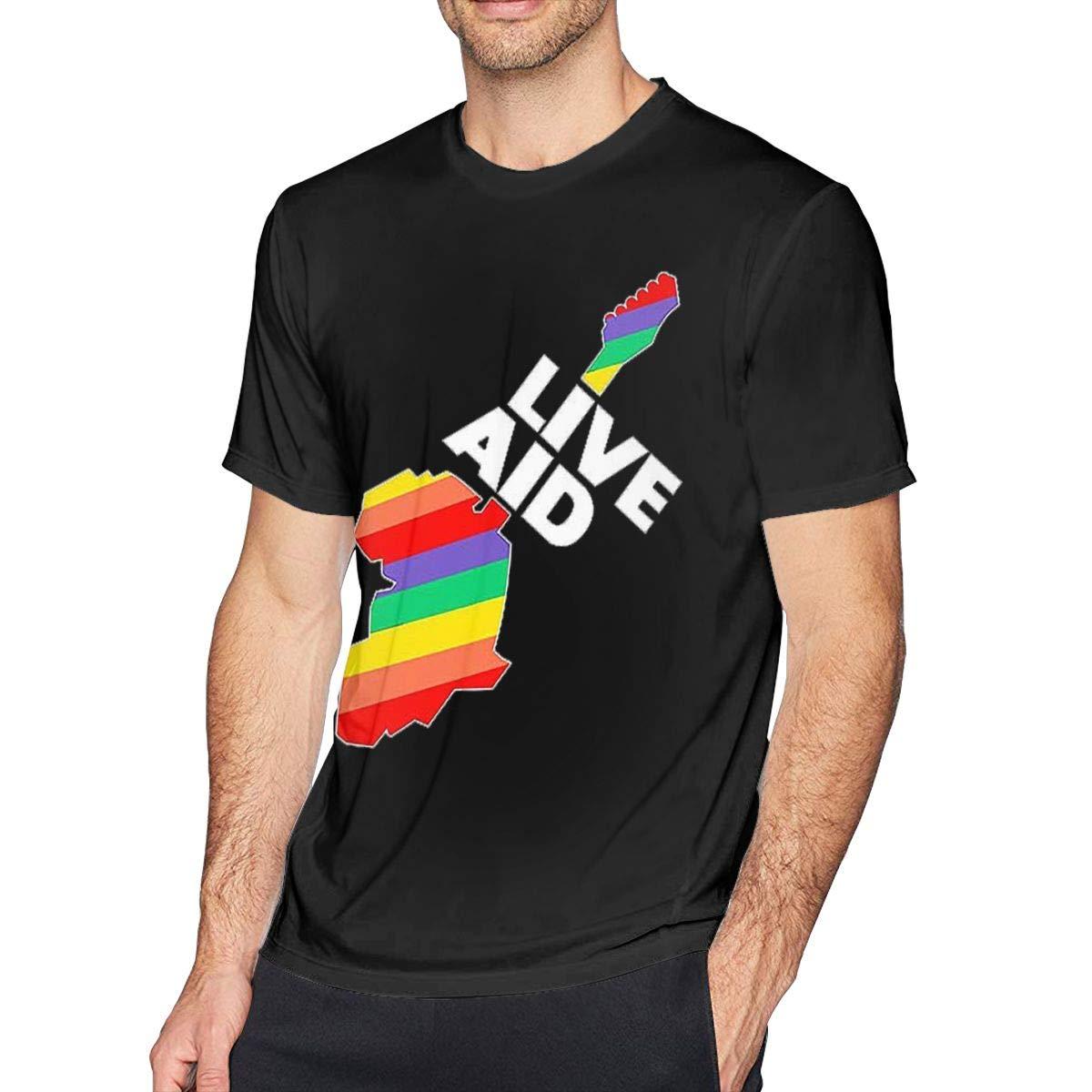 Apfdkqdgadc Live Aid Band Beautiful Shirt