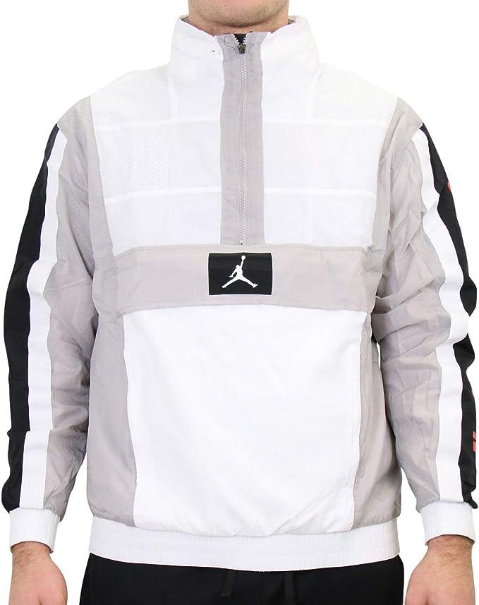 Jordan Nike Herren Wings Windwear Jacke Weiß M: