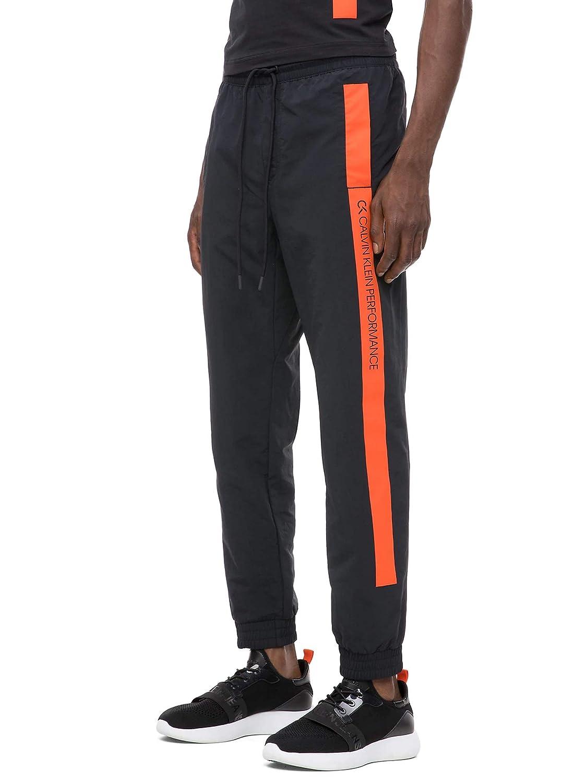 Calvin Klein 00GMH8P628 Pantalones Hombre Negro XL: Amazon.es ...