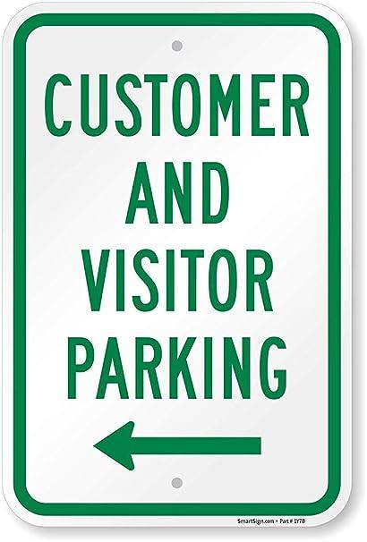 Amazon.com: Joycenie - Señal de estacionamiento para cliente ...