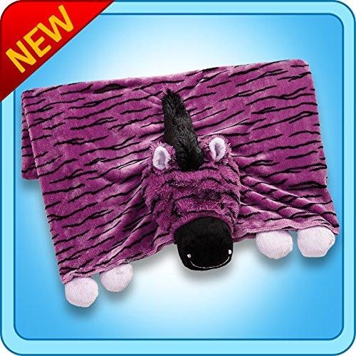 My Pillow Pets Zany Zebra Blanket