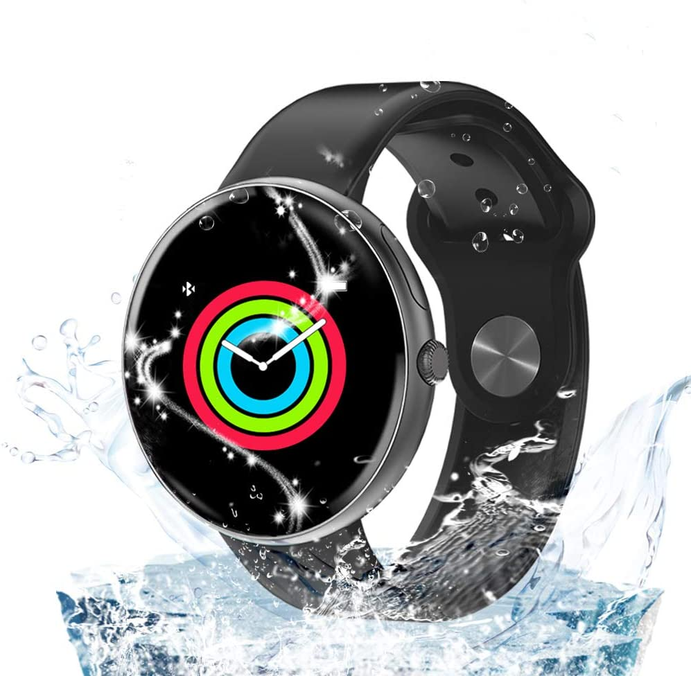 AllCall Smart Watch,Indoor Fitness Activity Tracker with Heart Rate Monitor & Blood Pressure Monitor IP68 Waterproof Bluetooth for Women Men Kids Compatible Android iPhone