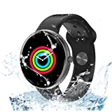 AllCall Smart Watch,Indoor Fitness Activity Tracker with Heart Rate Monitor & Blood Pressure Monitor IP68 Waterproof Bluetoot