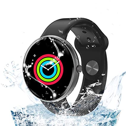 AllCall Smart Watches,IP68 Waterproof Smart Watch Bluetooth for Women Men Kids Compatible Android iOS,Fitness Activity Tracker with Heart Rate Monitor ...