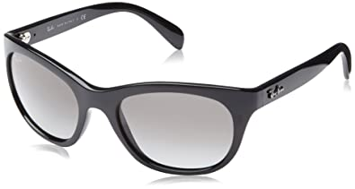 5c9169b2d9 Amazon.com  Ray-Ban RB4216 - 601 11 Sunglasses Shiny Black   Grey ...