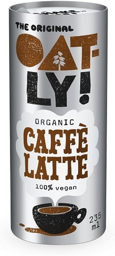 Oatly - Bebida de Avena Caffe Latte - Pack de 12 (12 x 235 Mililitros): Amazon.es: Alimentación y bebidas
