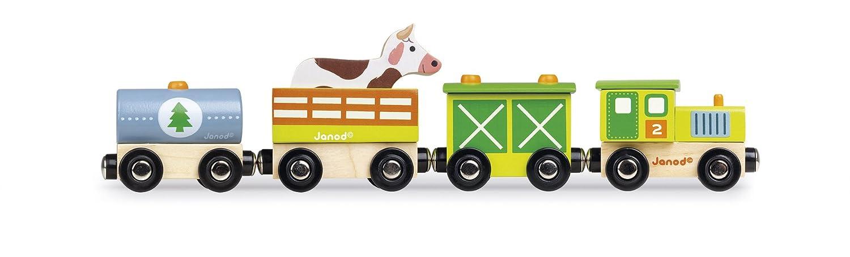 J08532 Story Train Farm Janod