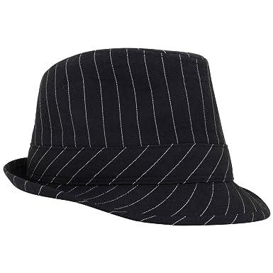 Yellow Mellon BABY HAT BLACK STRIPE TRILBY FEDORA FANCY DRESS ... 977477f5ac0