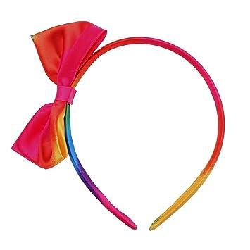 Rainbow Bow Headband for girls Rainbow Headband USA Bow Handmade Headband