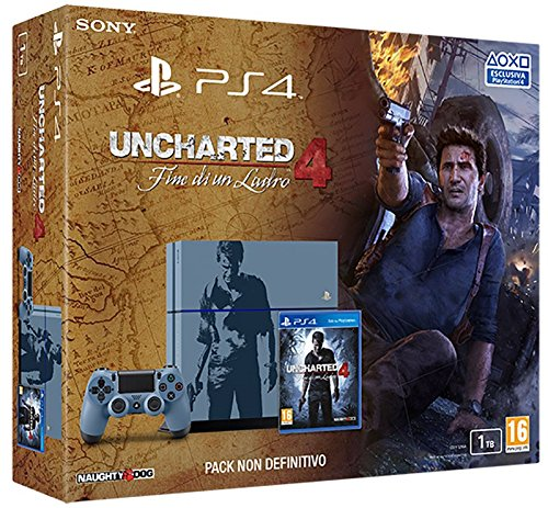 Playstation-4-1-TB-C-Chassis-Uncharted-4-Fine-Di-Un-Ladro-Bundle-Limited-Importacin-Italiana