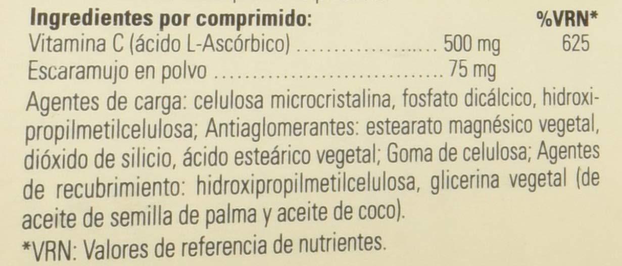 Solgar Vitamina C con escaramujo 500 mg Comprimidos - Envase de 100: Amazon.es: Salud y cuidado personal