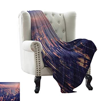Amazon.com: Luckyee City,Digital Printing Blanket,Dreamy ...
