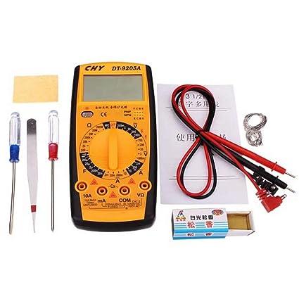 Lifreer 10pcs 40W Kit de herramienta de hierro para soldar Soldador de soldadura eléctrica