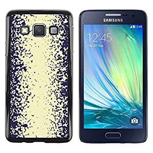 LECELL--Funda protectora / Cubierta / Piel For Samsung Galaxy A3 SM-A300 -- Abstract Road Vignette White --