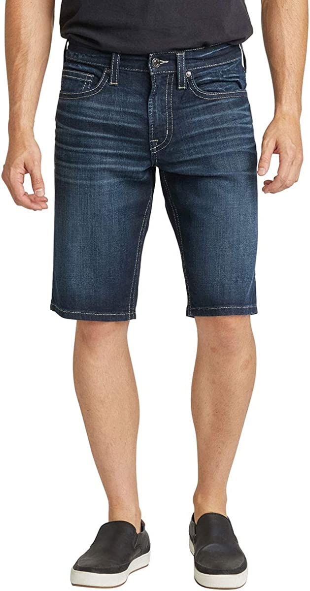 Silver Jeans Co. Men's Zac Relaxed Fit Jean Short