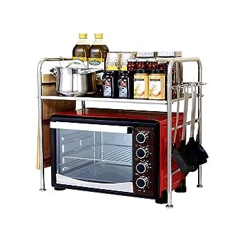 Rejilla de horno de microondas Estante para olla arrocera de ...