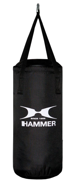Hammer Boxsack Fit Schwarz - Saco pesados de boxeo (nylon), color negro, talla Talla única 92340