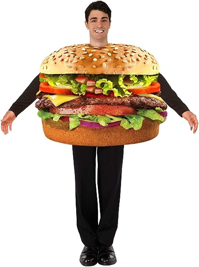 Forum Men's Hamburger Costume