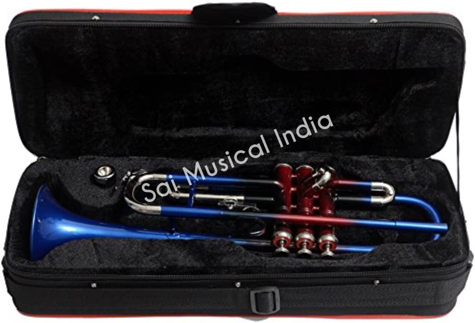Bb Sai Musical India TRUMPET PTR-25 Multicolor3