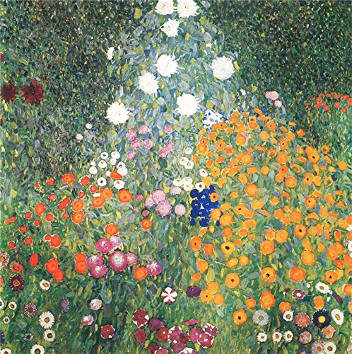 Aenx Gustav Klimt - Flower Garden Painting 30