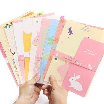 Zhi Jin 12 unidades para escribir cartas papelería papel y ...