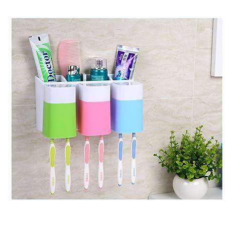 tonxi Wash Gargle Suit Gargle Cepillo de dientes Copa Holder Set Soporte para cepillos de dientes