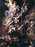 "Peter Paul Rubens The Fall of the Damned - 18"" x 24"" Premium Canvas Print"