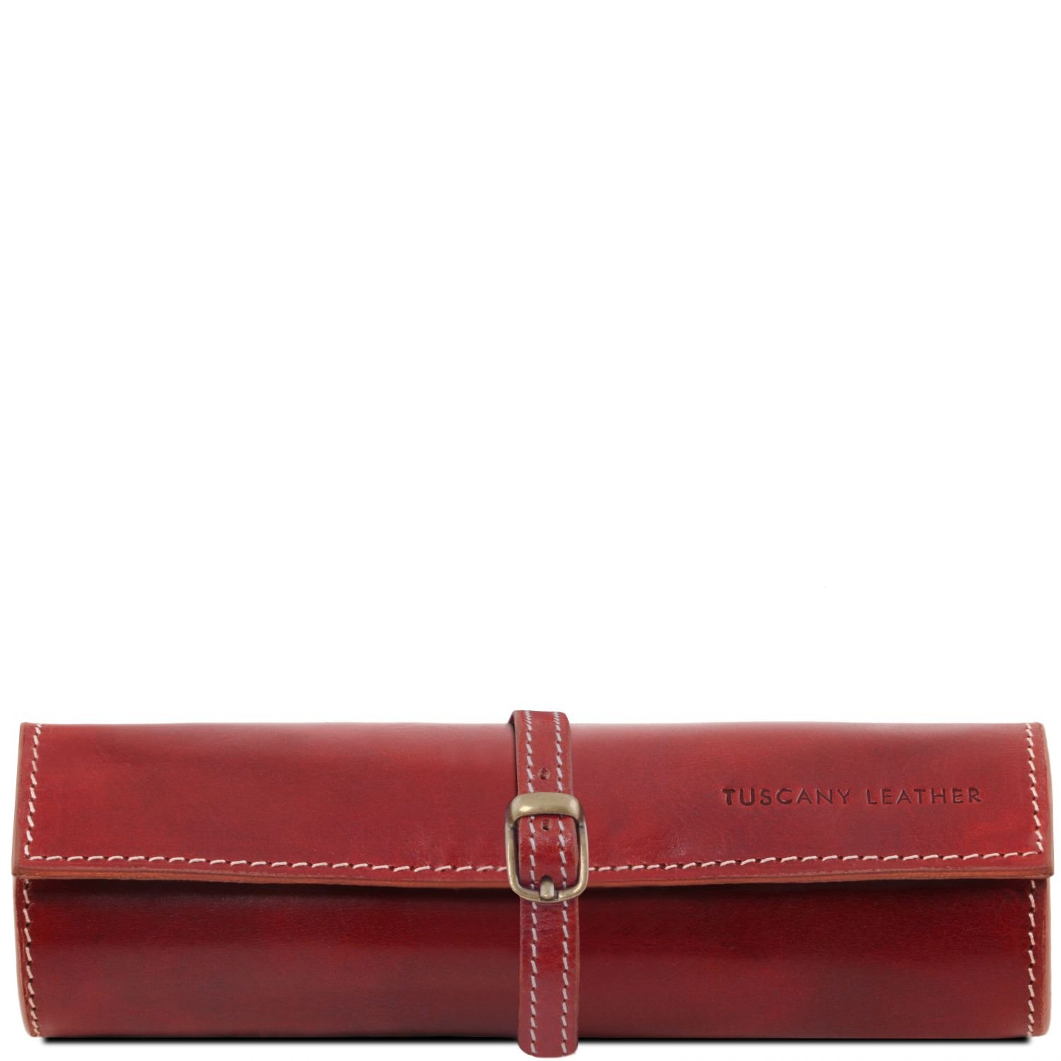 Tuscany Leather Exclusive leather jewellery case Red