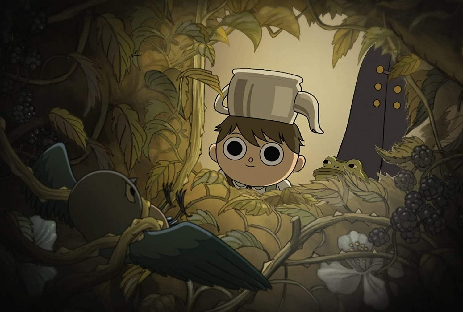 Greg Over The Garden Wall Poster Nursery Art Print Over The Garden Wall Artwork Modern Canvas Prints Wall Art Paintings Ready to Hang Home Decor Giclee Pictures (M - 18'' x 24'')