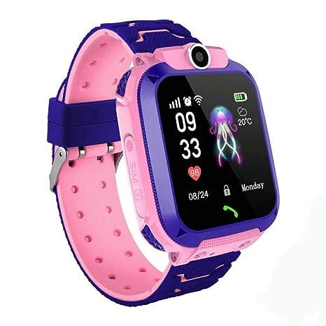 Amazon.com: AXDNH Reloj inteligente para niños, GPS, WiFi ...