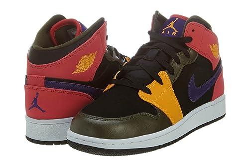 Jordan - Nike Air Jordan 1 Mid GG Zapatillas para Baloncesto para ...