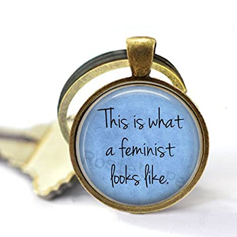 BAB Feminism - Llavero con Mensaje This is What a Feminist ...