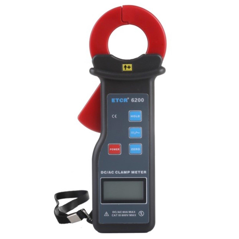 Lanlanmaoyimg Ammeter ETCR6200 AC/DC Leakage Current Clamp Meter Test AC/DC Current Leakage Current Repairing The Car Circuit Precision Measurement