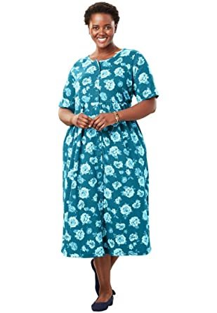 Only Necessities Womens Plus Size Empire Knit Dress At Amazon