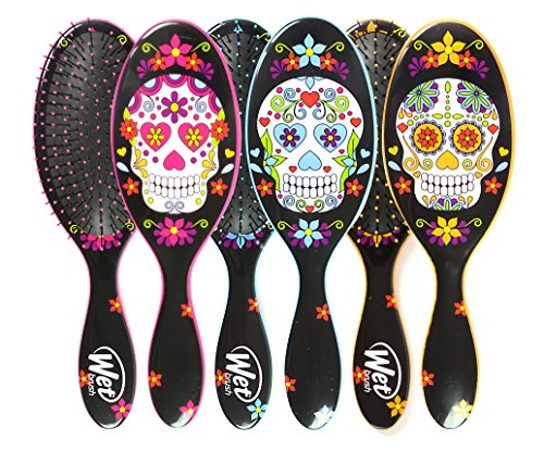 Wet Brush Original Detangler Sugar Skulls Trio, 10.3 Ounce