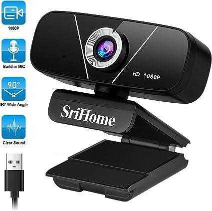 WACCET Cámara Web HD 1080p PC Webcam con Microfono, USB Cámara para PC/Mac/Laptop/MacBook, Streaming Cámara para Videollamadas, Estudio, Clase en línea, Conferencias, Grabación, Juegos: Amazon.es: Electrónica