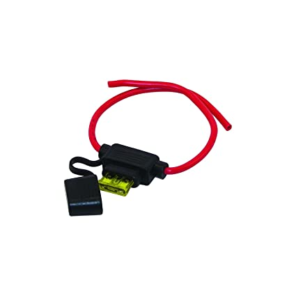amazon com : invincible marine waterproof in-line atc fuse holder : sports  & outdoors